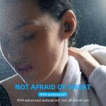 Waterproof Ipx4 Wireless In Ear Headphones Mobile Headset Noise Cancelling T15 Tws