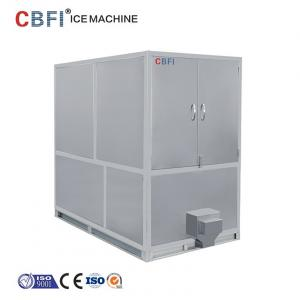 China 1000kg Air Cooled Ice Cube Machine With Germany Bitzer / R22 Refrigerant on sale