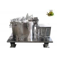Model PPTD Spin Drying Ethanol Extraction System Biomass Herb Oil Extractor