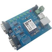 Hot WIFI to dual serial ports, WIFI to USB, WIFI networking evaluation board wifi module
