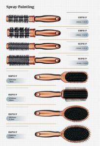 China spray painting- hair brush on sale