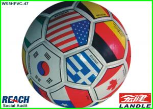 China Custom Printed Country Flag Soccer Balls Football Training Balls on sale