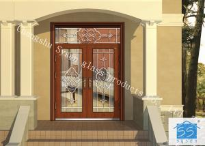 China Door Decorative Panel Glass 033 Type 8-25mm Thickness Sound Insulation on sale