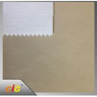 Strong Knitting TC Backing Artificial PU Synthetic Leather For Car Seat