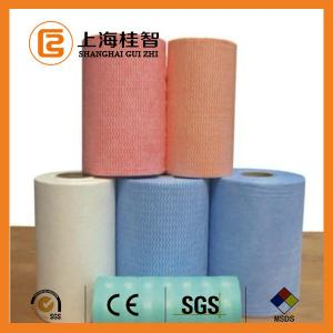 China Spunlace Nonwovens Household Cleaning Wipes , Non Woven Wipes on sale