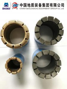 China Impregnated Diamond Bit, IMP Bit for Geological Drilling/ Wireline Core Drilling DCDMA  BC NC NC3 HC HC3 PC3 on sale