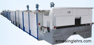 China Electric heating annealing lehr on sale
