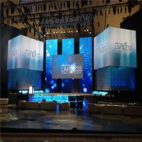 SMD Indoor P3.9 TV Show Stage Background LED Screen / Display Rohs UL CE FCC