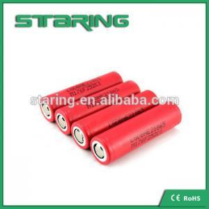 China China supplier rechargeable  LGDBHE2 18650 2500mAh 3.7V battery  for energizer lithium on sale