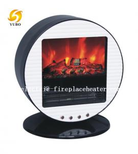 ... Quality Round Portable Chimney Free Mini Electric Fireplace Log Effect  Electric Stove For Sale ...