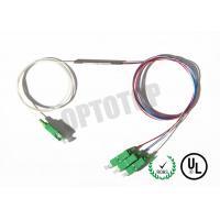 1X3 1310 nm Single Mode Fiber Coupler , Fused FBT Splitter For FTTH / CATV