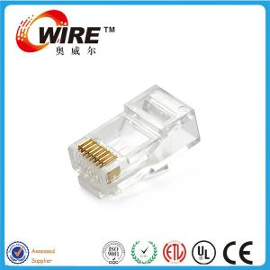 China LAN Cable Connector Network Cable Accessories Customized Color CE / ROHS / ISO Listed on sale