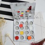 Custom 16 Colors Mineral Powder Eyeshadow , Empty Eyeshadow Palette For Beginners