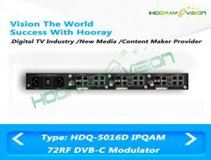 China All In One DVB C 72 Digital Channel Modulator CATV Slot Card Support 512 IP Input 24 Carriers Output on sale