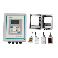 Clamp on ultrasonic flow meter price low TF1100-EC with clamp on flow sensor