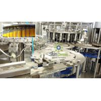 PET Bottle Fruit Juice Production Line 3 in 1 Washing Filling Capping