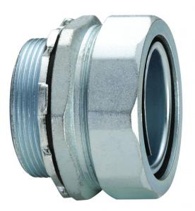 China Electrical Box Conduit Connectors , Waterproof Electrical Flex Connectors on sale