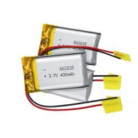 602035 Lithium Polymer Battery Pack 3.7V 400mah For Blue Tooth Headset