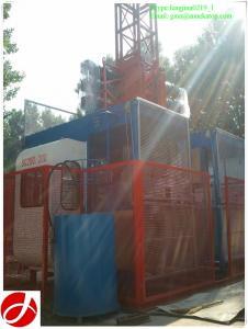 China CE verified SC200/200 2t construction hoist for construction project on sale