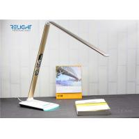Eye Protection Foldable Desk Lamp with LCD Calendar Display and Ambient Light Dimmable Brightness