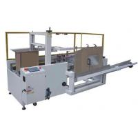 Automatic Carton Erector Machine , Meat Canning Carton Erector And Sealer