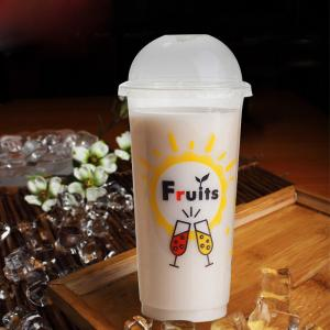 China plastic cups with lids plastic cup containers plastic juice cup 420ml 500ml 600ml 620 ml on sale