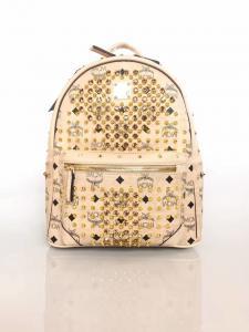 China MCM Women's Backpack Pink Blue Skin Color on sale