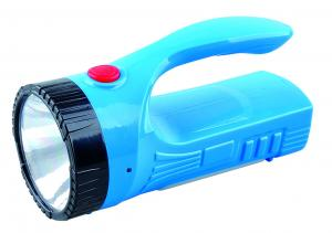 China 1 Watt Blue Rechargeable Led Night Light / Brightest Handheld Flashlight For Hunting on sale