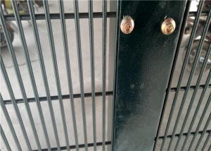 China High Security Anti Cut Wire Mesh Fence High Strength Welded For Each Intersection on sale