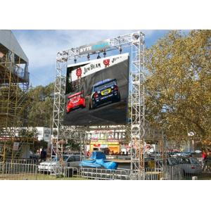China HD 1R1G1B 3in1 Outdoor SMD Led Display P6 For Outdoor Rental Backdrop Screen with high brightness IP65 on sale