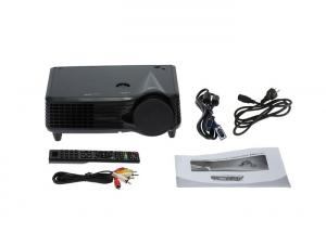 China Compact 1080P Mini LED Projector / Portable PC Projector For Powerpoint Presentations on sale