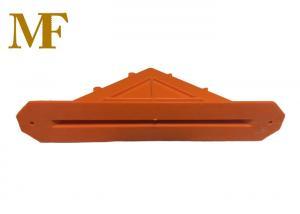 China Durable Diamond ABS Dowel Sleeve 1/4 Size Orange Color Carton Box on sale