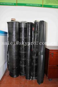 China Self Adhesive Elastomeric Asphalt Rubber Sbs Modified Bitumen Roofing Membrane on sale