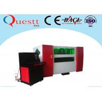 Alloy Steel Sheet Metal Laser Cutting Machine 2000W With Fully Automatic Tracking System