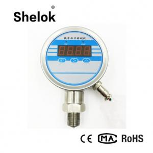 China Electric contact 4-20ma intelligent pressure controller digital air water pressure switch on sale