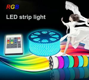 China Ip68 30 LEDs / Meter 12V / 24V RGB LED Strip Light with SMD 5050 chips Warm White on sale