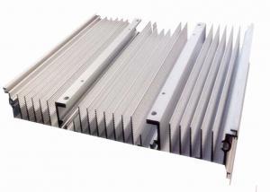 China 6063 T5 / 6061 T6 Extruded Aluminum Heatsink Aluminium Profile With Cooling Fins on sale