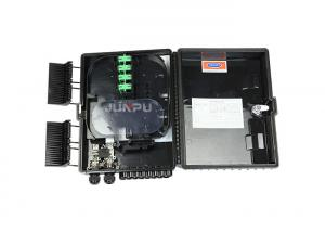 China ABS FTTH 16 Ports Fiber Optic Network Distribution Box 1X16 Plc Splitter Outdoor on sale