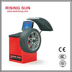 China LCD display automatic wheel balancer for car workshop on sale