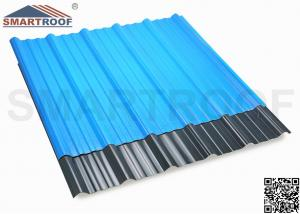 China Aging Resistance Layer Architectural Shingle ASA Plastic Sheet In 1130mm Profile on sale