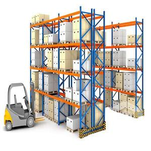 China Custom Depth Material Handling Storage Rack System / Selective Pallet Rack on sale