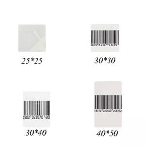 China 58khz EAS AM Security Dr Soft Label Self Adhesive Anti - Theft 8.2MHz High Sensitivity on sale