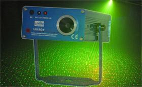 China Automatic Mini Twinkling Laser Sound Sensitivity Light L61RGY on sale