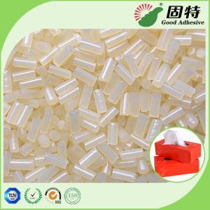 China Packaging Tissue Box Sealing Hot Melt Pellets Yellowish Color Strong Adhesive Yellowish granule Hot Melt Glue Adhesive on sale