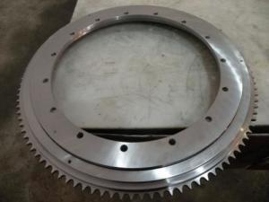 China Flanged Slewing Ring Bearing on sale