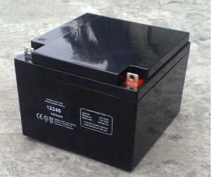 China 12V24AH UPS battery sealed lead acid battery valve regulated battery 12V26AH battery on sale