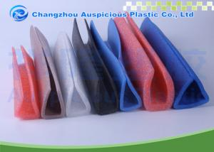 China U / V Shape EPE Safety Foam Table Edge Guard For Furniture Protection on sale
