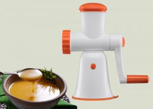 China Compact Structure Manual Meat Mincer Non Electric Baby Food Chopper BPA Free on sale