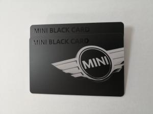 China Matte Black PVC Member Card With Glossy UV Printing HiCo Magnetic Stripe White Signature on sale