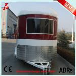 Chinese two horse trailer for sale,2 horse angle load trailer manufacturer